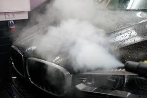 bmw x5 autopflege dampfstrahl | b.o.s. design