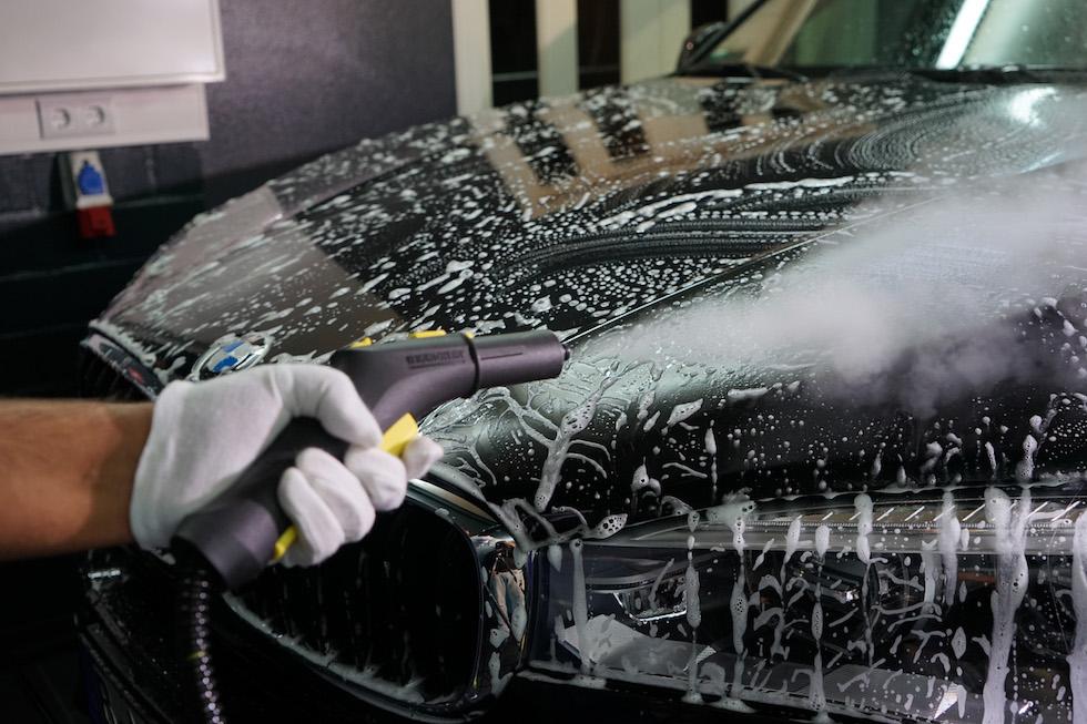 bmw x5 autopflege insektenentfernung | b.o.s. design