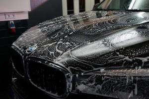 bmw x5 autopflege shampoonierung | b.o.s. design